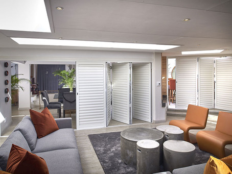 FIVE WAYS TO USE BEACH HOUSE STYLE SHUTTERS.