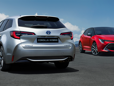 THE NEW TOYOTA COROLLA HATCH.