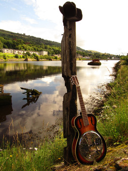Sandy McLelland's Dobro guitar