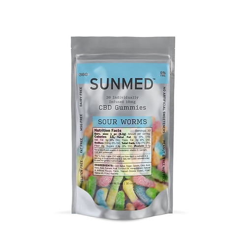 Gummies - ND - Sour Worms