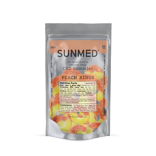 Gummies - ND THC - Peach Rings