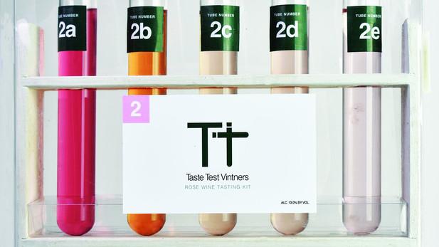 Package Design: Taste Test Vintners