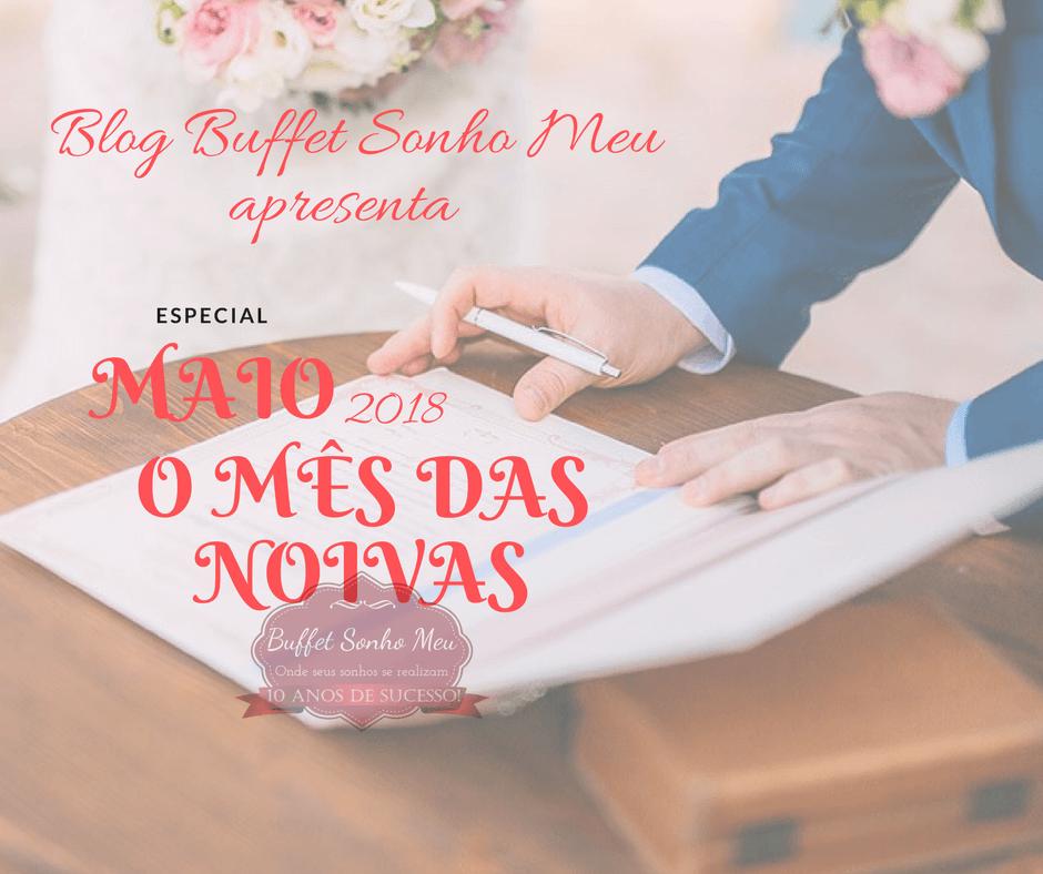 Maio mês das noivas