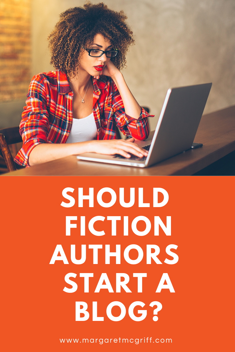 Now when it comes to blogging as a fiction author, there are a lot of like differing opinions on the subject. Some people say fiction authors shouldn't even waste their time blogging. Others say all authors should blog no matter what they write. Is it right for you, though? Let's find out!
