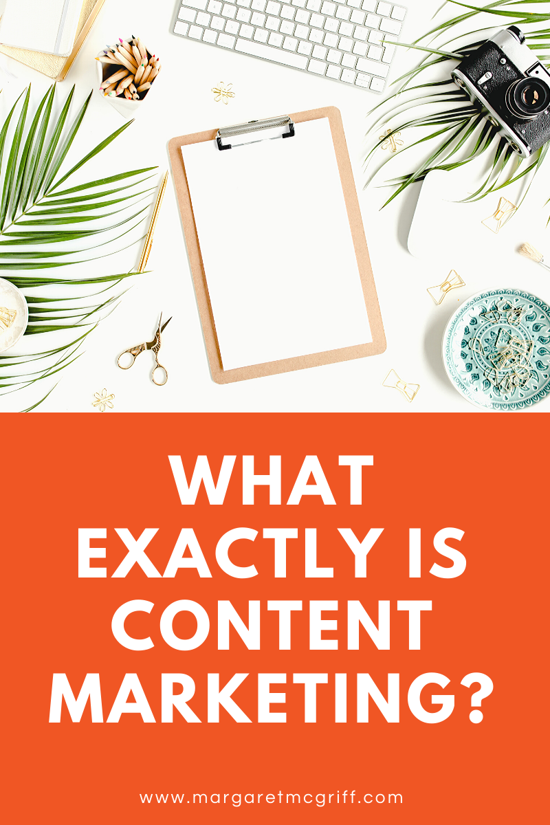 Content Marketing.    I know it sounds so businesslike and vague, but trust me it's not as scary as you think. Plus, it's something that we writers are naturally good at. Here's how!