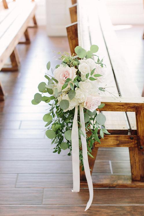 Floral Pew Marker