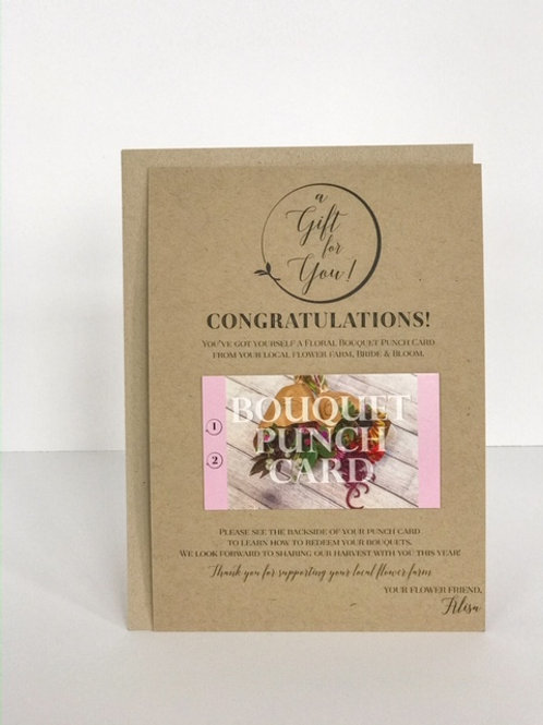 Farm Bouquet Gift Card