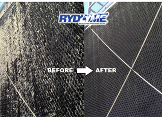 Removing scale with RYDLYME helps prevent bacteria!