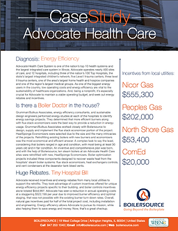 Advocate Health Care Case Study