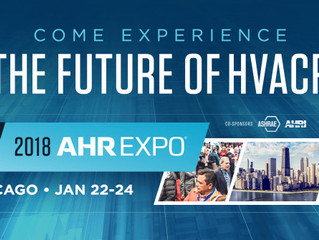 Come See Us at the 2018 AHR Expo!