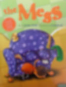 The Mess a sticker book illustrated by Cindy Revell