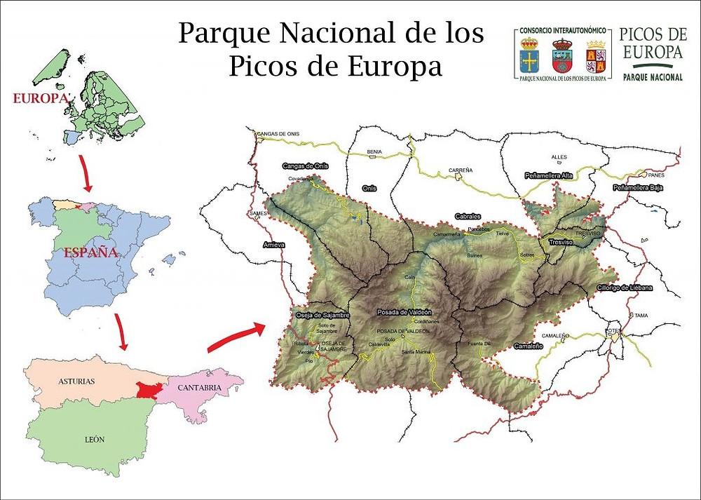 rio sella picos de europa