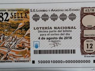 Descenso del Sella yEl sorteo de laLotería Nacional
