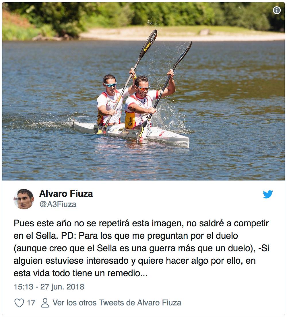 Alvaro Fiuza descenso del sella 2018