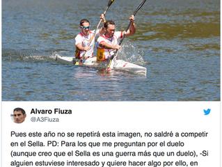 Alvaro Fiuza no estará en el Descenso del Sella este 2018.
