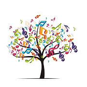 Canva - tree with colorful music notes.j
