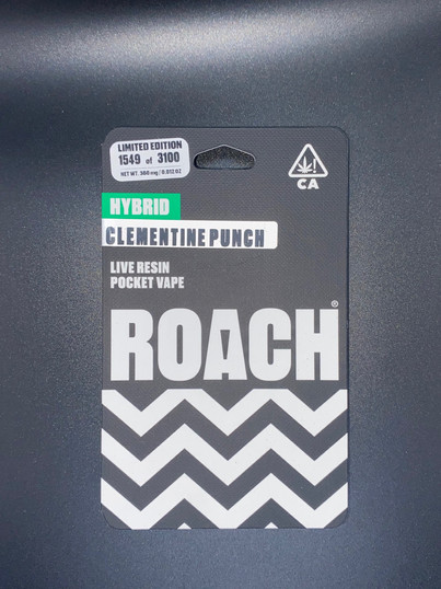 Roach Clementine Punch Disposable