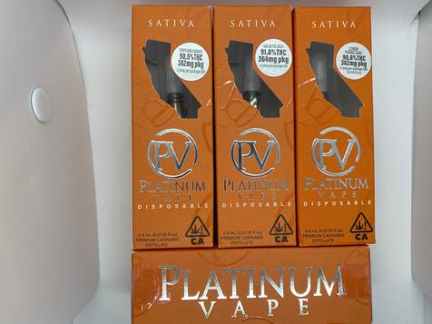 Platinum Vape Sativa Disposables