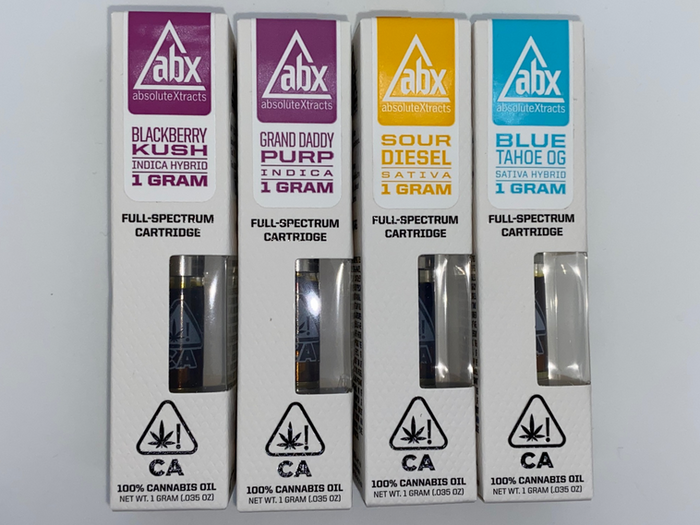 ABX 1 Gram Carts