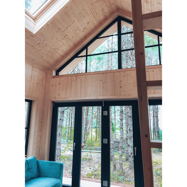 Treetop OÜ Väikeelamu. Eritellimusena projekteeritud väikemaja.