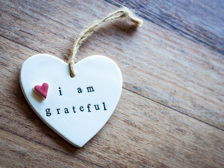Gratitude Goes a Long Way