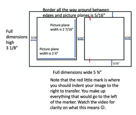 Stereograph template