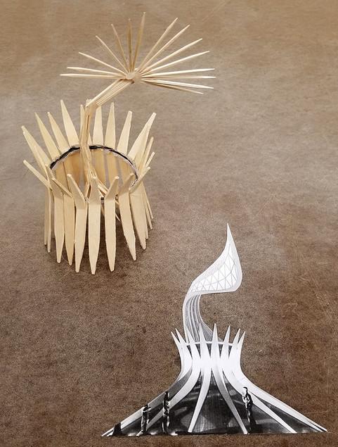 FrankenCollage + FrankenSculpture Student Image 3