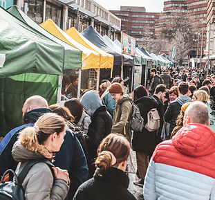 Newcastle vegan market