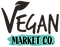 Vegan Market Co. Logo New - Black & Gree