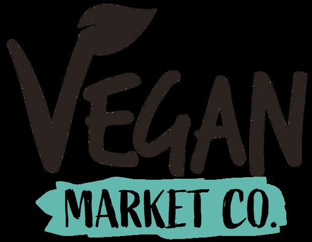 Vegan Market Co. Logo New - Black & Gree