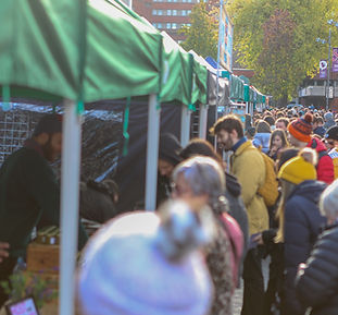 Sheffield vegan market