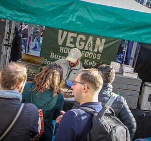Barnet vegan market