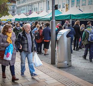 Bristol vegan market