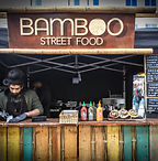 Bamboo Street Food at vegan market