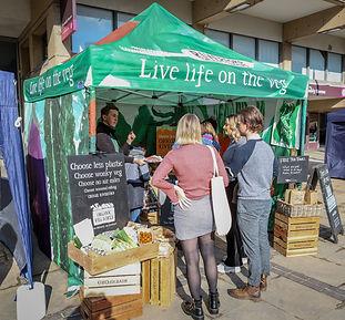 Nottingham vegan market