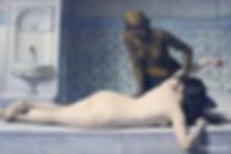 black woman gives white woman massage.jp
