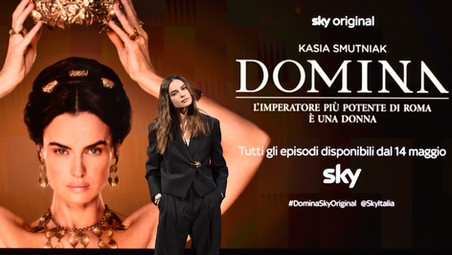 Domina: Kasia Smutniak è Livia Drusilla, Sky è una garanzia