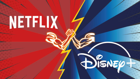 Nella streaming Battle tra Disney Plus e Netflix a trionfare è un outsider