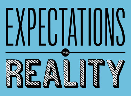 The importance of having the right expectations