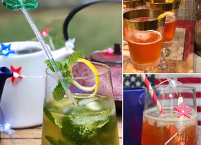 Summer Tea Cocktails
