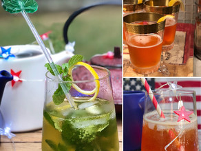 Summer Tea Cocktails
