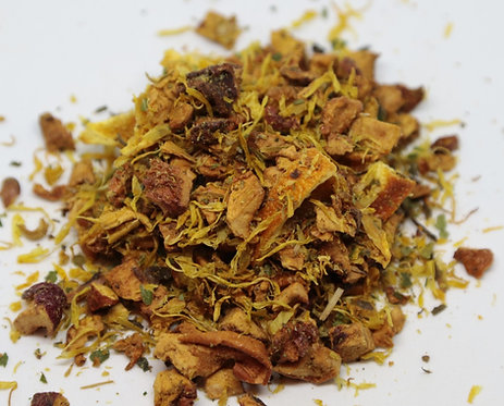marigold orange tisane