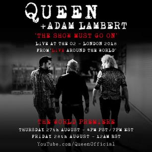 Así suena un primer adelanto del próximo álbum en vivo de Queen + Adam Lambert