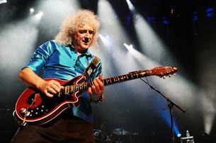El guitarrista de Queen sufre una fuerte enfermedad