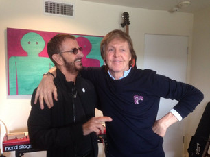 Paul McCartney y Ringo Starr volvieron a grabar juntos