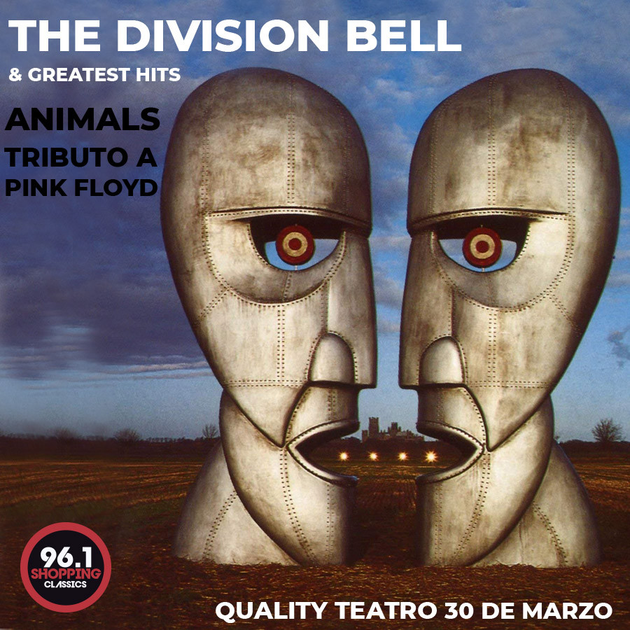 """Animals Tributo a Pink Floyd """"25 Años The Division Bell & Hits"""""""