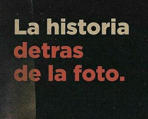 LA HISTORIA DETRÁS DE LA FOTO