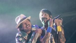 Mirá el show completo de los Red Hot Chili Peppers con Eddie Vedder