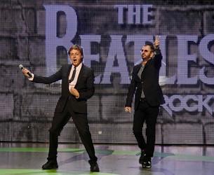 Paul McCartney y Ringo Starr juntos