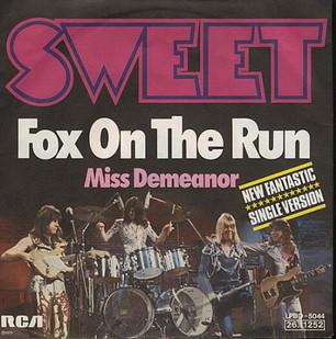 """Sweet lanzará una edición especial de """"Fox On The Run"""""""